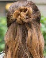 麻花辫丸子头&个性马尾 非常适合优雅淑女的女性