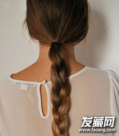 马尾辫子发型图片步骤