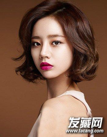 气质的短发烫发发型的设计 可爱俏皮又萝莉(4)