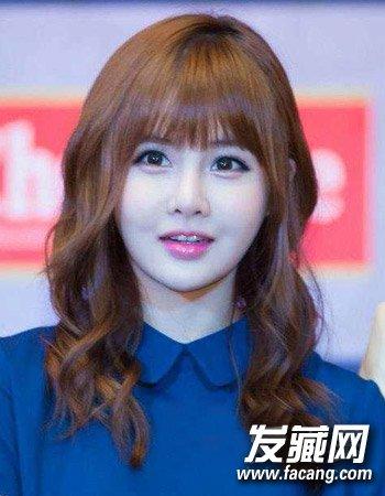 韩版减龄发型推荐 清新的中短发烫发(8)