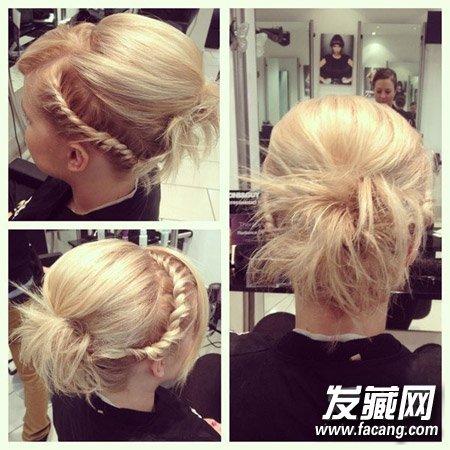 【图】8款简单编发发型