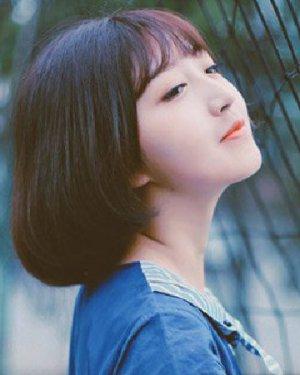 可爱俏皮的日韩短发发型