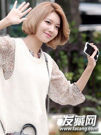 【图】可爱俏皮的日韩短发发型