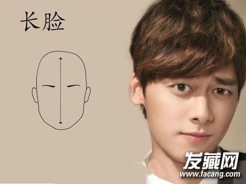 男生发型也看脸 发型与脸型正确搭配(5)