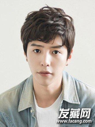 韩国男生头像白发