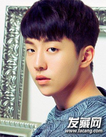 (6)  导读:暖男发型6 时尚的韩国 男生发型 ,帅气的斜刘海与清爽的