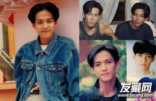 发型网 男生发型 男明星发型       印象中的80年代,中分发型可谓是红图片