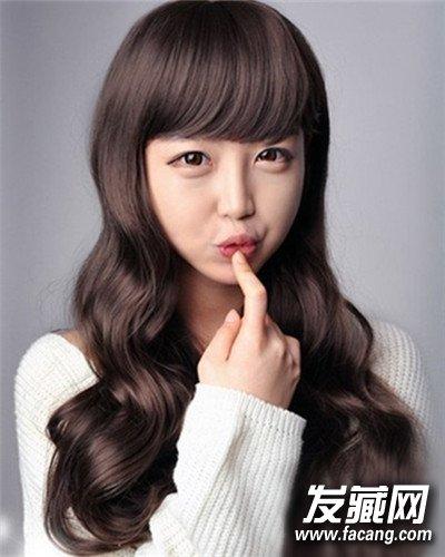 五款韩式甜美长发蛋卷头发型萌妹子大爱(2)图片