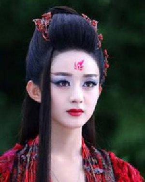 《花千骨》赵丽颖妖神发型 魅惑发型更加分