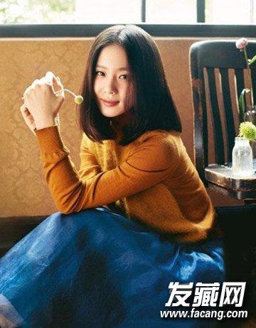 迪丽热巴pk刘诗诗中分发型小清新的气质(3)