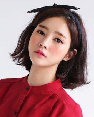 齐肩发怎么弄好看 最新初秋韩式烫发发型