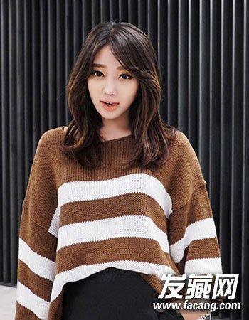 齐肩发怎么弄好看 最新初秋韩式烫发发型(2)