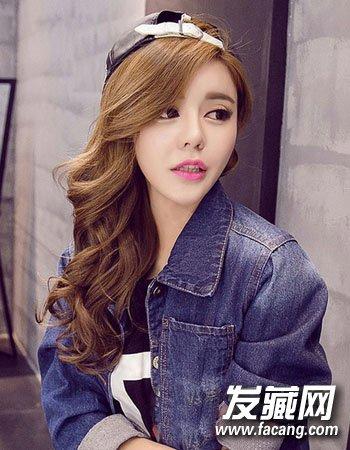 齐肩发怎么弄好看 最新初秋韩式烫发发型(8)