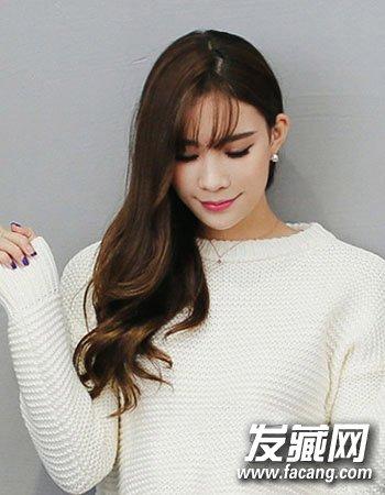 齐肩发怎么弄好看 最新初秋韩式烫发发型(9)