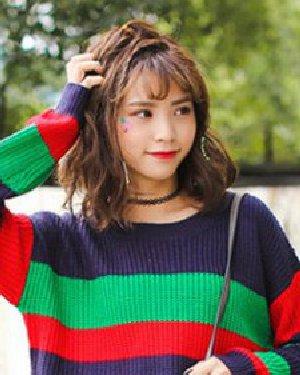 90后女生韩式发型设计 清纯可爱学院风
