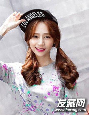 90后女生韩式发型设计 清纯可爱学院风(6)