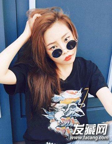 最新中长发发型图片 韩式时尚齐肩发型的设计(3)