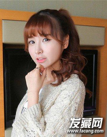 空气刘海持续大热 时尚空气刘海发型(8)图片