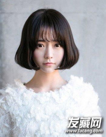 微卷短发发型设计 初秋女生短发发型推荐(6)图片