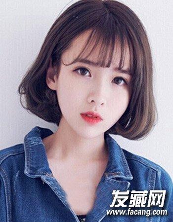 微卷短发发型设计 初秋女生短发发型推荐(7)图片