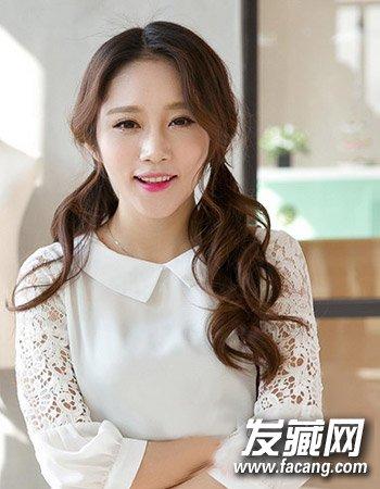 内扣形式的齐刘海造型设计 时尚发型真好用(5)