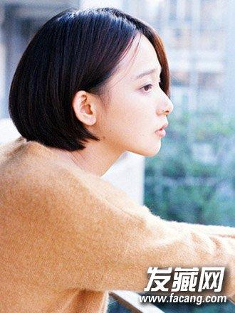 2016秋冬流行发型:齐脖短发烫卷发型 →短发是检验颜值的最高标准?图片