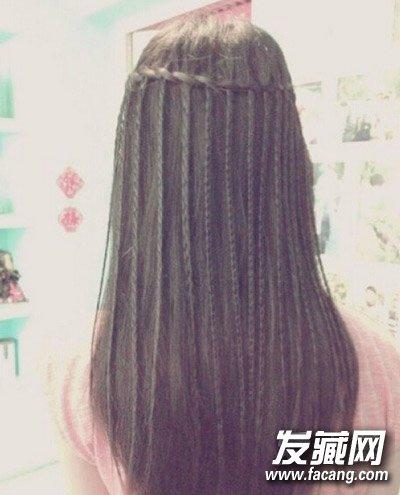 步骤一;首先将头发打理 →好看的编发手残学不会?