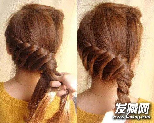 2款简单盘发打造专属时尚感 →陈妍希中式新娘发型曝光 同款盘发怎么