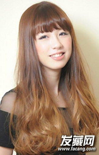 日系甜美大波浪卷发,减龄瘦脸轻松搞定(2)图片