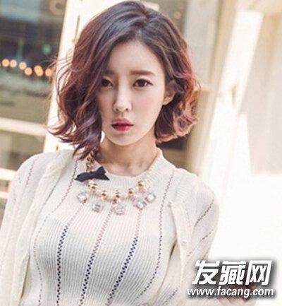 【图】最hot韩式短卷发精选,短发美眉最爱_卷发发型图片