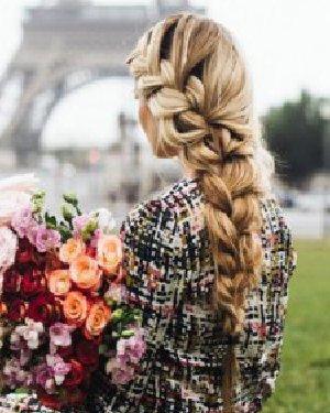 法式辫子&发髻 9种发型让你如临法兰西