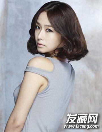 韩式减龄短发发型图片 30 女人发型首选(4)图片