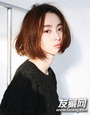 """日系短发弄什么发型好看 """"boy""""风短发帅到 →可爱俏皮的日韩短发"""