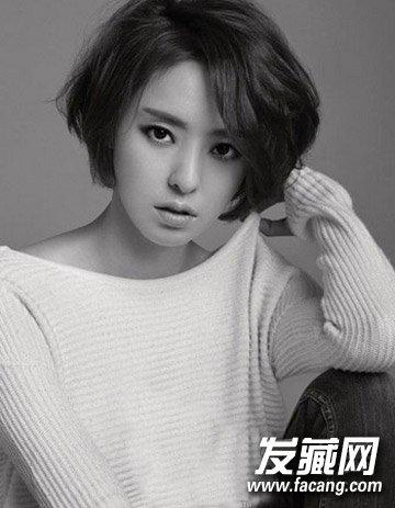 韩式减龄短发发型图片 30+女人发型首选(6)