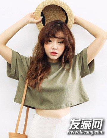 空气刘海长发发型 漂亮刘海长发发型推荐(4)
