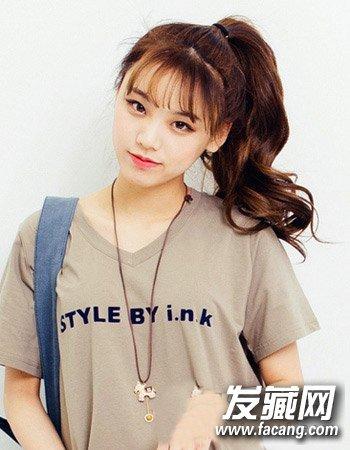 少女可爱发型推荐 初秋扮靓发型就学它 →韩国女生可爱发型 女生