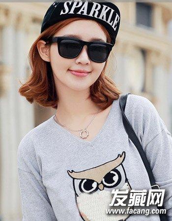 韩国女生个性发型设计 个性短发最受宠(6)