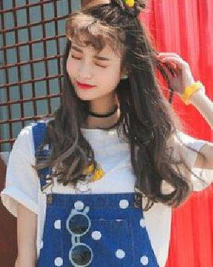 韩式可爱发型扎发发型 刘海搭配更吸睛