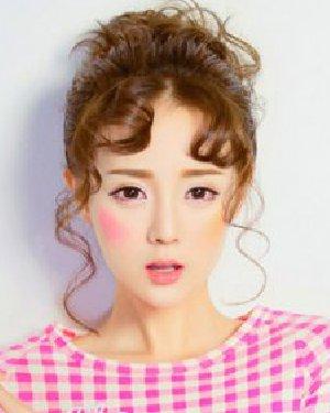 时尚女生减龄刘海发型设计 9款打造最强学院风