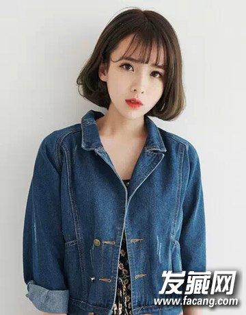 今年很流行的短发 空气刘海波波头/蘑菇头(2)