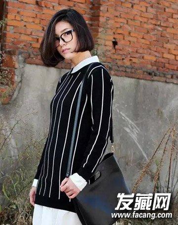 今年很流行的短发 空气刘海波波头/蘑菇头(3)