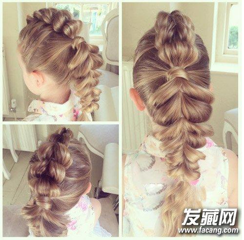 最新爆红编发发型图片 如何梳一款好看的发型?(2)