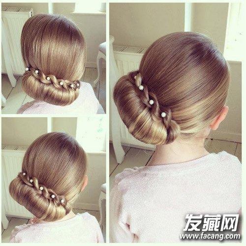最新爆红编发发型图片 如何梳一款好看的发型?(4)