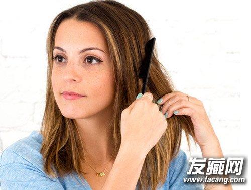 中发发型怎么打理 扎个婉约低发髻(3)图片