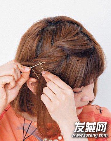 短发怎么扎好看? 猫耳朵扎发吸引他的注意力(8)