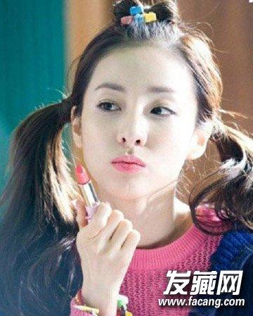 刘海怎么扎上去好看 尴尬刘海还能这样搞(8)