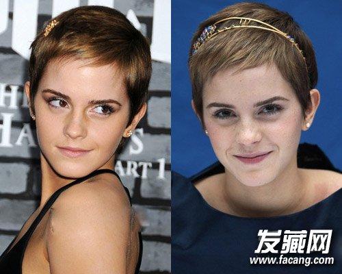 发型图片 短发发型图片 > 欧美短发女星示范 短发也可以性感和可爱(2)