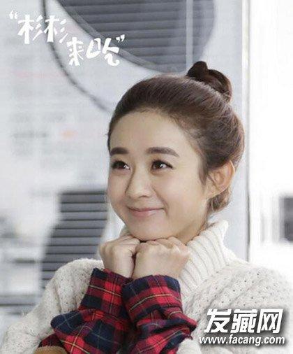 赵丽颖短发 齐刘海的造型 但并不是包子脸最佳发型(4)