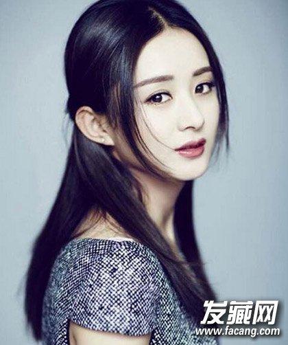 赵丽颖短发+齐刘海的造型 但并不是包子脸最佳发型(5)图片