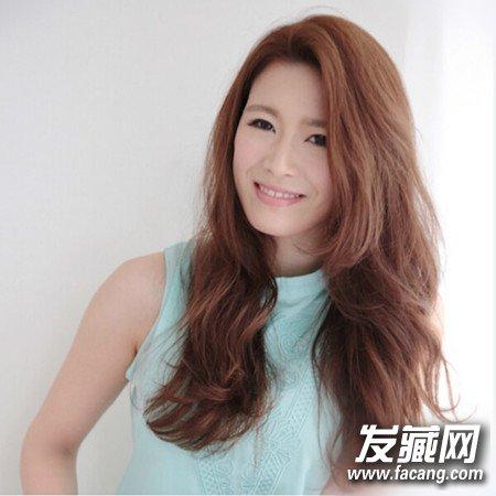日系甜美水波纹长发发型图片精选(2)